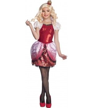 EVER AFTER HIGH APPLE WHITE Z PERUKĄ DZIECIĘCY