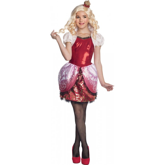 EVER AFTER HIGH APPLE WHITE Z PERUKĄ DZIECIĘCY EVER AFTER HIGH