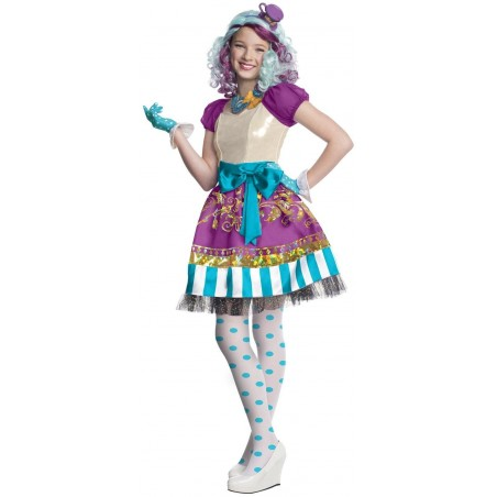 EVER AFTER HIGH MADELINE HATTER Z PERUKĄ DZIECIĘCY EVER AFTER HIGH