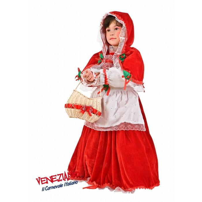 CZERWONY KAPTUREK PREMIUM DZIECIĘCY Veneziano Costumi