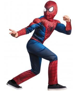 NIESAMOWITY SPIDER MAN 2 DLX DZIECIĘCY MARVEL