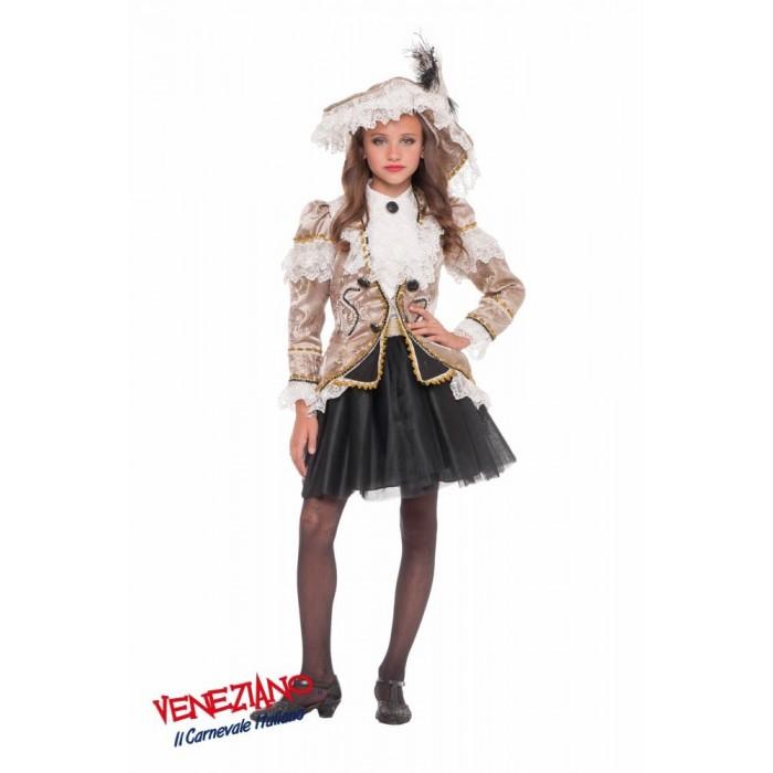 KORSARKA PIRATKA BUKANIERKA PREMIUM DZIECIĘCY Veneziano Costumi