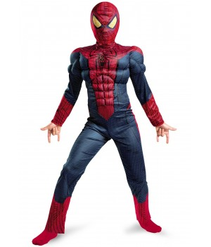 SPIDER MAN NIESAMOWITY DLX MŁODZIEŻOWY