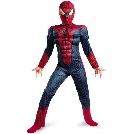 NIESAMOWITY SPIDER MAN DELUXE KOSTIUM DZIECIĘCY