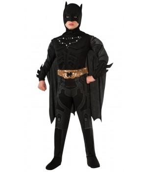 Marvel DC Comics BATMAN DLX ŚWIECĄCY ZNAK DZIECIĘCY ALLEKOSTIUM