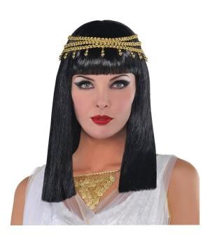KLEOPATRA KRÓLOWA EGIPTU PERUKA DAMSKA