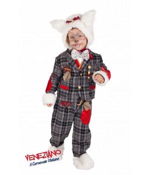 BIAŁY KRÓLIK PREMIUM DZIECIĘCY Veneziano Costumi