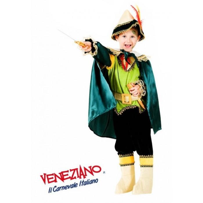 PIOTRUŚ CHŁOPIEC Z LASU PREMIUM DZIECIĘCY Veneziano Costumi