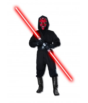 STAR WARS DARTH MAUL DLX MĘSKI ALLEKOSTIUM