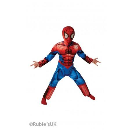 Marvel DC Comics SPIDER MAN ULTIMATE DLX DZIECIĘCY ALLEKOSTIUM