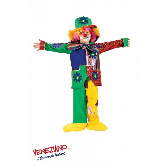 KLAUN ZESTAW KOSTIUMOWY PREMIUM DZIECIĘCY Veneziano Costumi